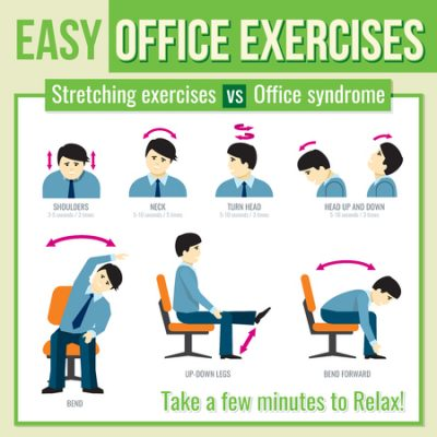 Best Effective Office Workout Exercises