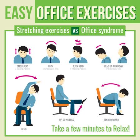 Best Effective Office Workout Exercises Sportavida