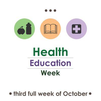 National Health Education Week October 2017