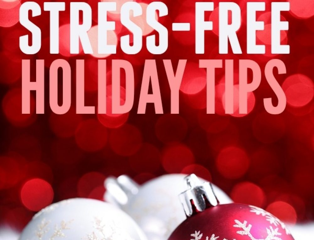 How To Avoid Stress Over The Holidays